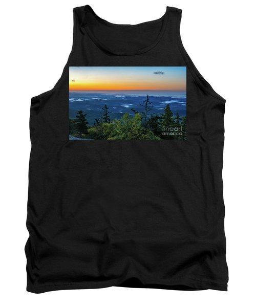 Blue Ridge Mountains Sunrise Tank Top