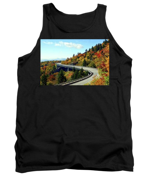 Tank Top featuring the photograph Blue Ridge Parkway Viaduct by Meta Gatschenberger