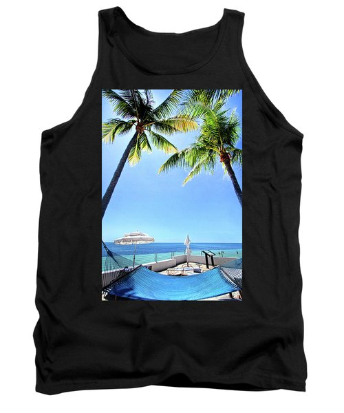 Tank Top featuring the photograph Blue Sky Breezes by Phil Koch