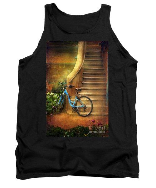 Blue Taos Bicycle Tank Top