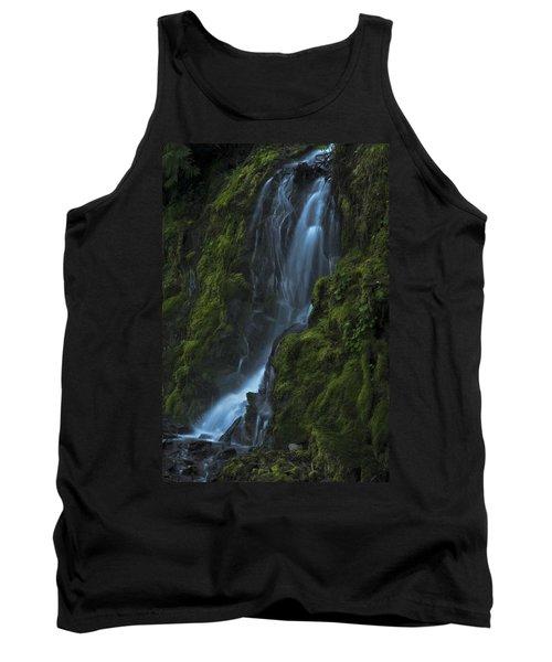 Blue Waterfall Tank Top