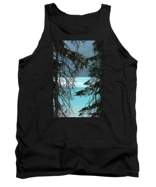 Tank Top featuring the photograph Blue Whisper by Al Fritz