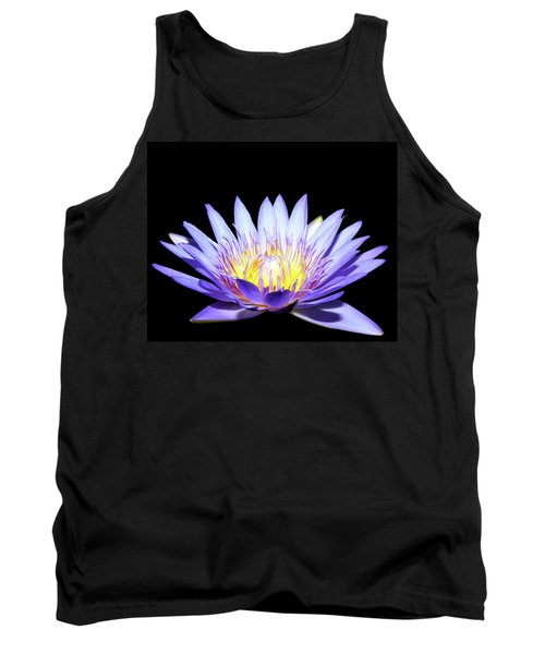 Tank Top featuring the photograph Blue Wonder by Judy Vincent