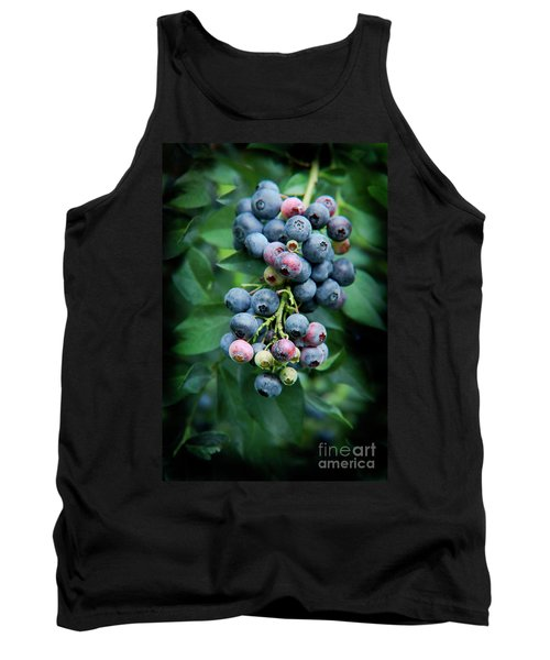 Blueberry Cluster Tank Top