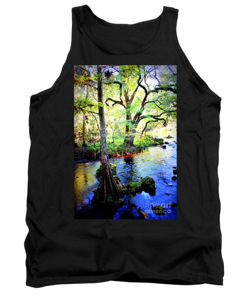 Blues In Florida Swamp Tank Top