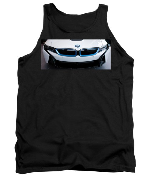 Tank Top featuring the photograph Bmw E Drive I8 by Aaron Berg