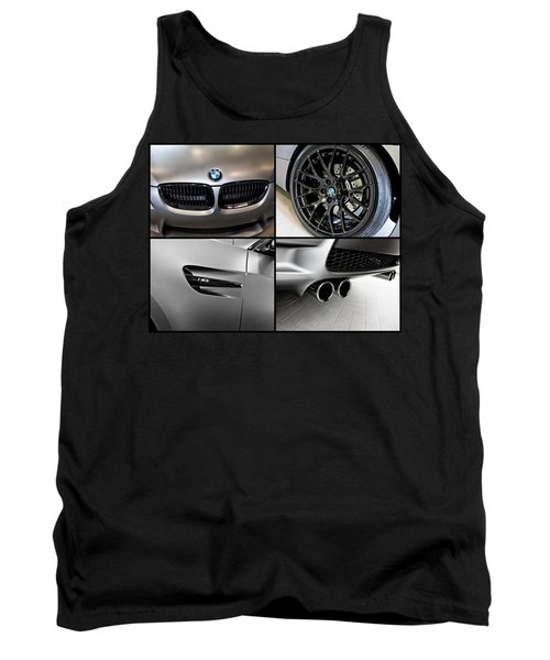 Tank Top featuring the photograph Bmw M3 Collage by Aaron Berg