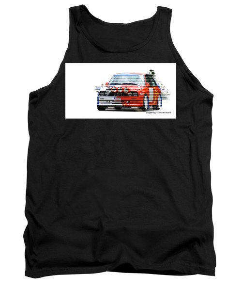 Bmw M3 Group A Tank Top by Roger Lighterness