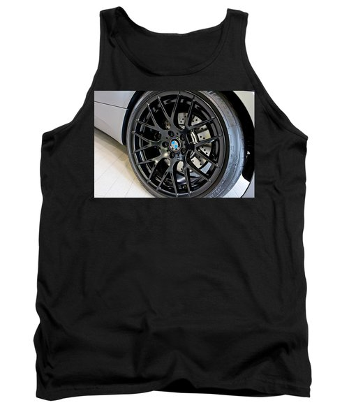 Tank Top featuring the photograph Bmw M3 Wheel by Aaron Berg