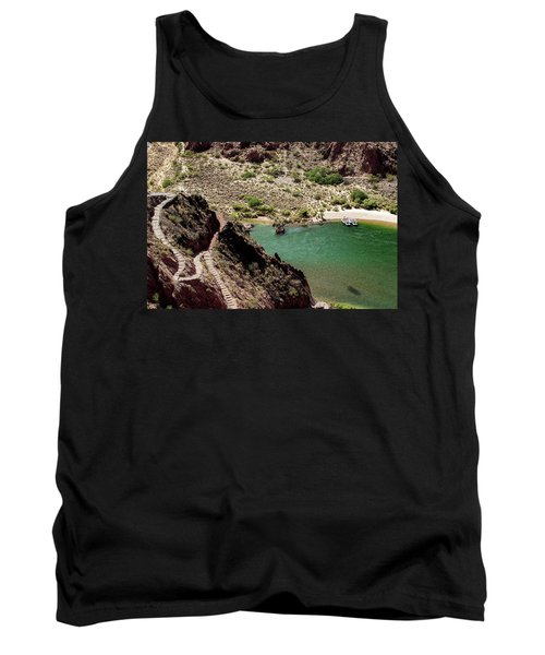 Boat Beach On The Colorado River Tank Top
