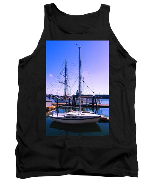 Boats And Ships Tank Top
