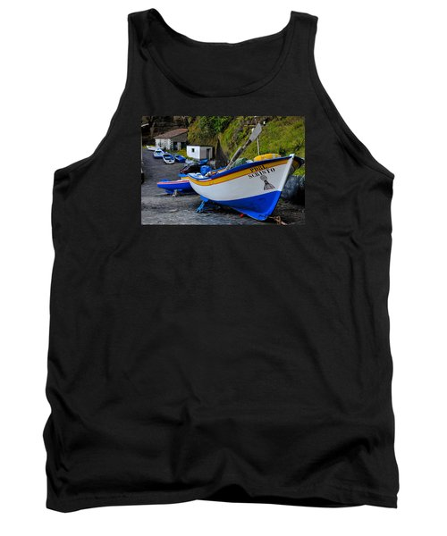 Boats,fishing-19 Tank Top