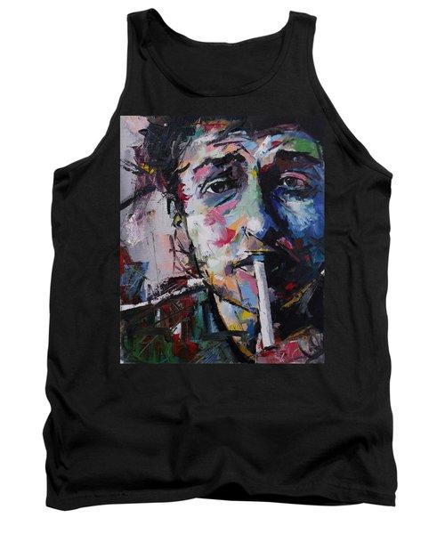 Bob Dylan Tank Top by Richard Day
