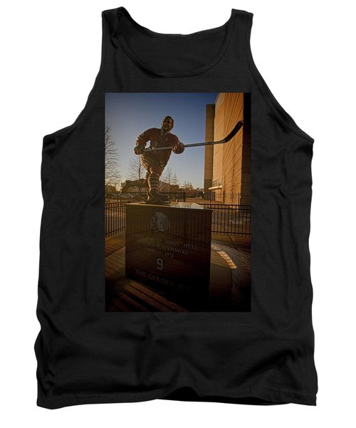Bobby Hull Sculpture Tank Top