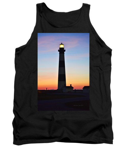 Bodie Lighthouse At Sunrise Tank Top