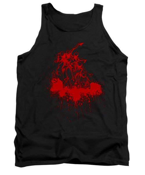 Body In Space Tank Top