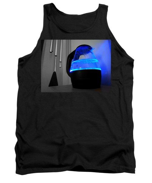 Boiling Blue Tank Top