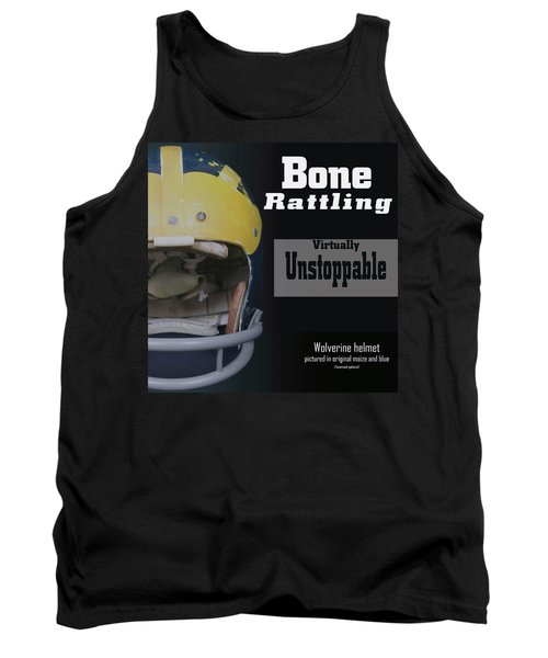 Bone Rattling Virtually Unstoppable Tank Top