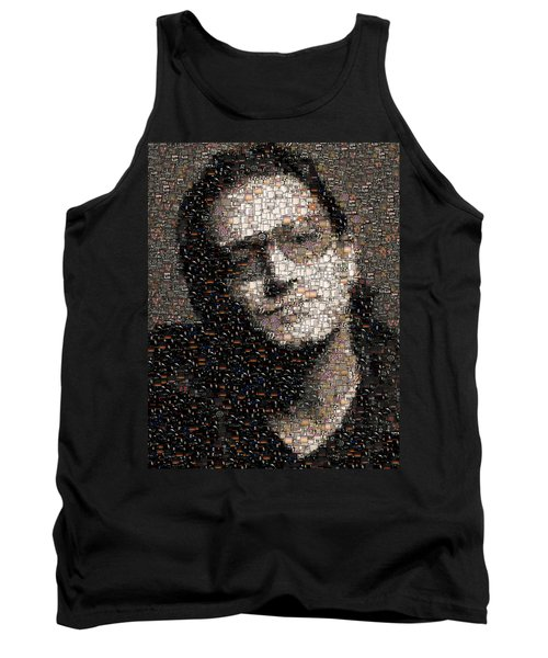 Bono U2 Albums Mosaic Tank Top by Paul Van Scott