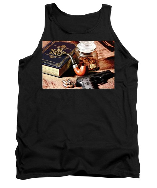 Books And Bullets Tank Top by Barry Jones