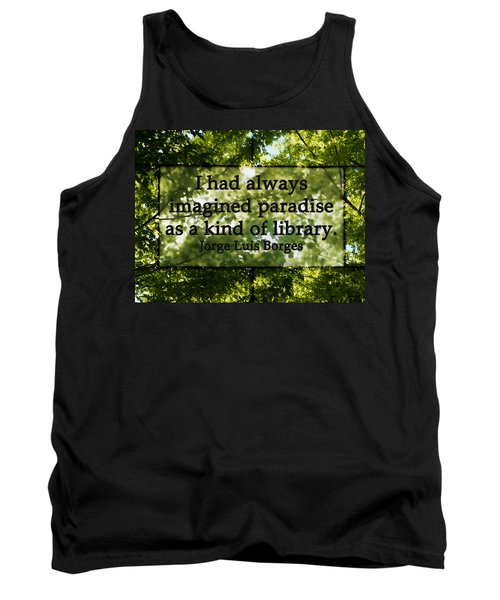 Books Are A Paradise Tank Top