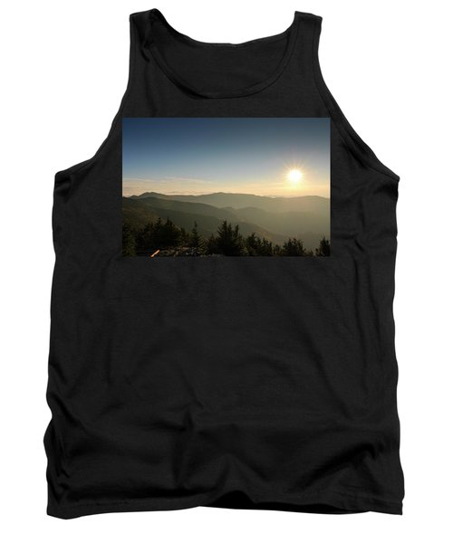 Boone Nc Area Sunset Tank Top