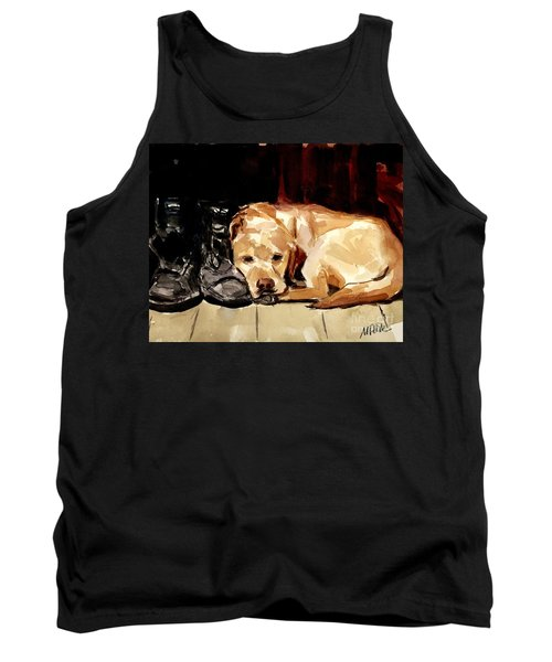 Boots Tank Top by Molly Poole