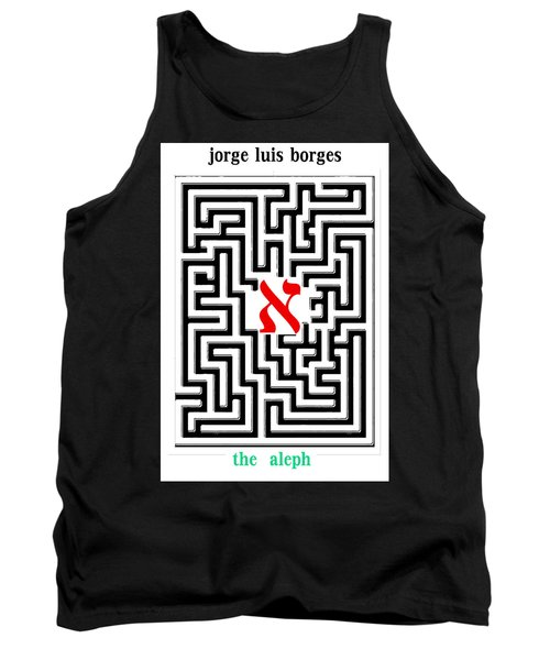 Borges' Aleph Poster Tank Top