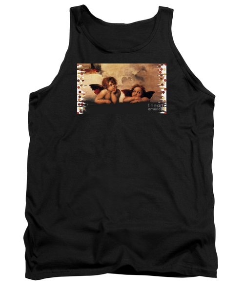Tank Top featuring the painting Bouguereau Painting Fresh Paint  by Catherine Lott