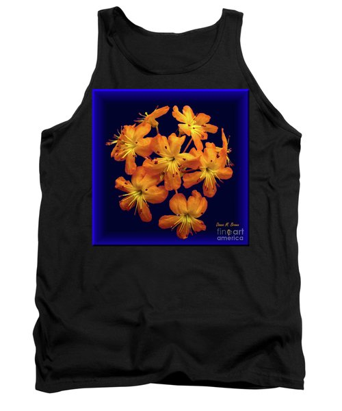 Tank Top featuring the digital art Bouquet In A Box by Donna Brown