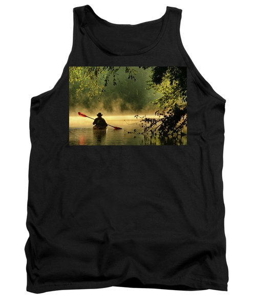 Bourbeuse River  Tank Top by Robert Charity