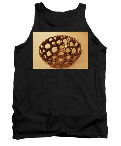 Tank Top featuring the photograph Bowle Of Holes by Itzhak Richter
