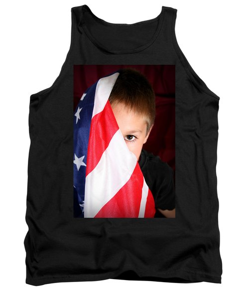Boy And His Country Tank Top