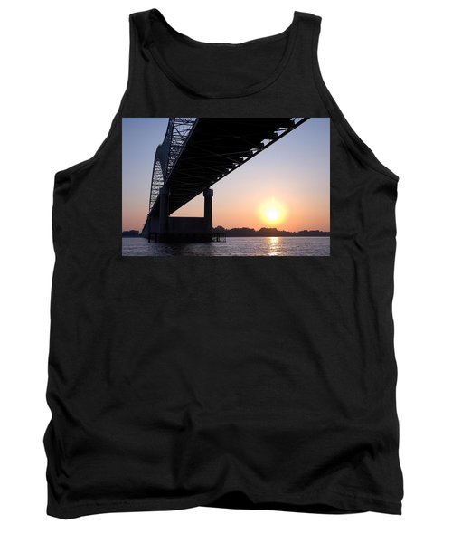 Bridge Over Mississippi River Tank Top