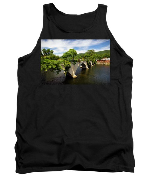 Bridge Of Flowers Shelburne Falls, Ma Tank Top
