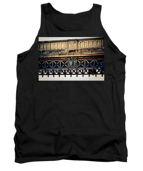 Bridge Ornaments In Germany Tank Top