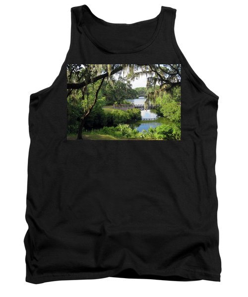 Bridges Over Tranquil Waters Tank Top