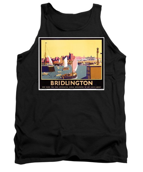 Bridlington Port, Yorkshire,great Britain, Travel Poster  Tank Top