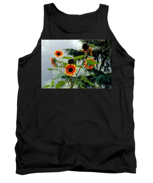 Bright Spots On A Foggy Morning Tank Top