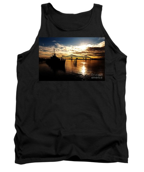 Bright Time On The River Tank Top