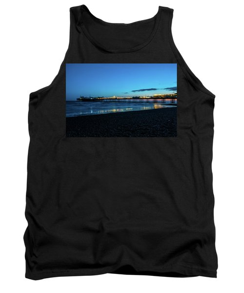 Brighton Pier At Sunset Ix Tank Top
