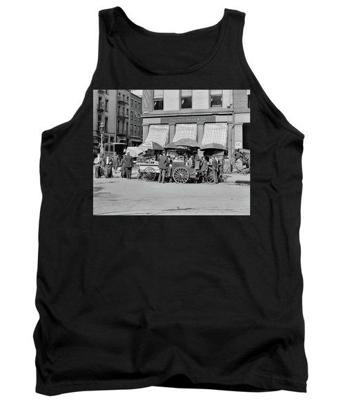 Broad St. Lunch Carts New York Tank Top