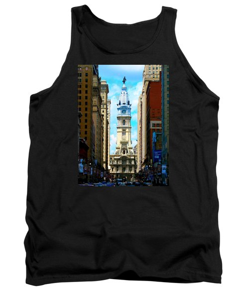 Philadelphia Tank Top by Christopher Woods