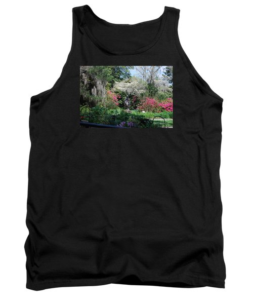 Brookgreen Gardens 2 Tank Top by Gordon Mooneyhan