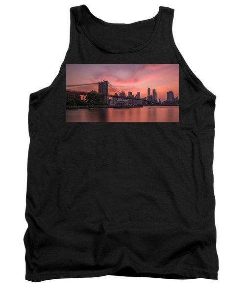 Brooklyn Bridge Sunset Tank Top