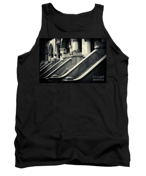 Brooklyn Park Slope Stoops Tank Top by Sabine Jacobs