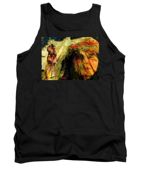 Brother Wind Tank Top by Seth Weaver