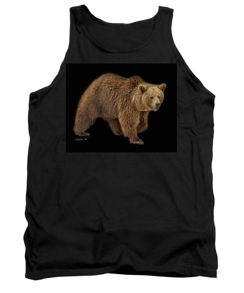 Brown Bear 5 Tank Top