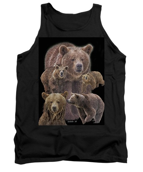 Brown Bears 8 Tank Top