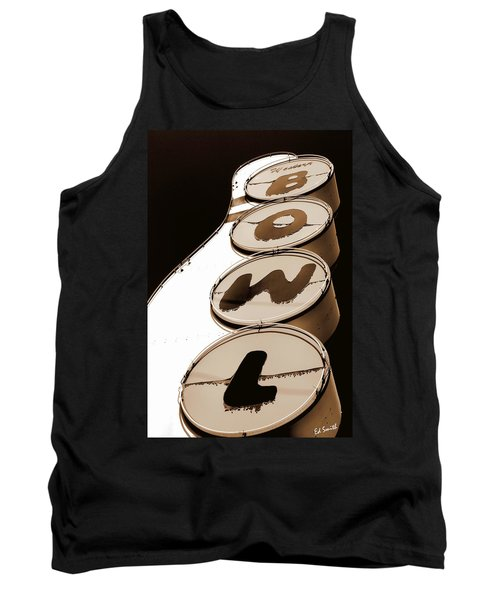Brown Bowl Tank Top